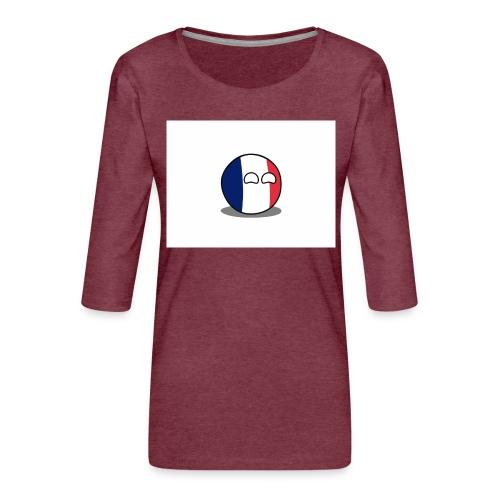 France Simple - T-shirt Premium manches 3/4 Femme