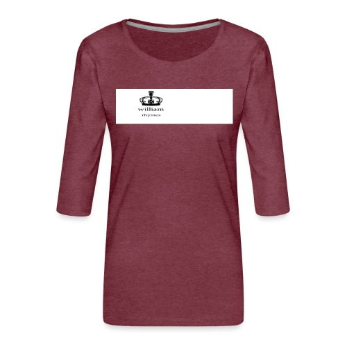 william - Women's Premium 3/4-Sleeve T-Shirt