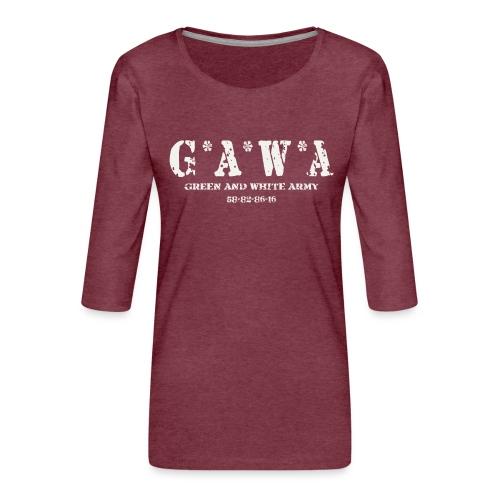 GAWA military - Women's Premium 3/4-Sleeve T-Shirt