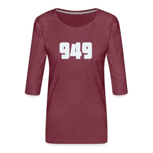 949withe - Frauen Premium 3/4-Arm Shirt