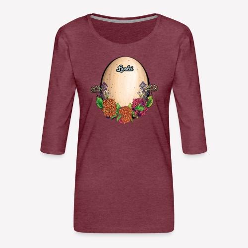 Landei - Frauen Premium 3/4-Arm Shirt