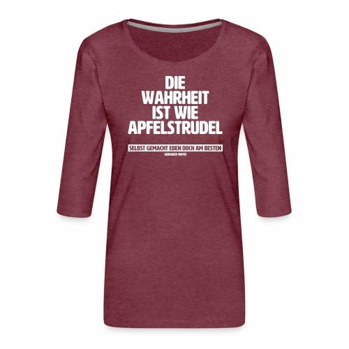 Wahrheit - Frauen Premium 3/4-Arm Shirt