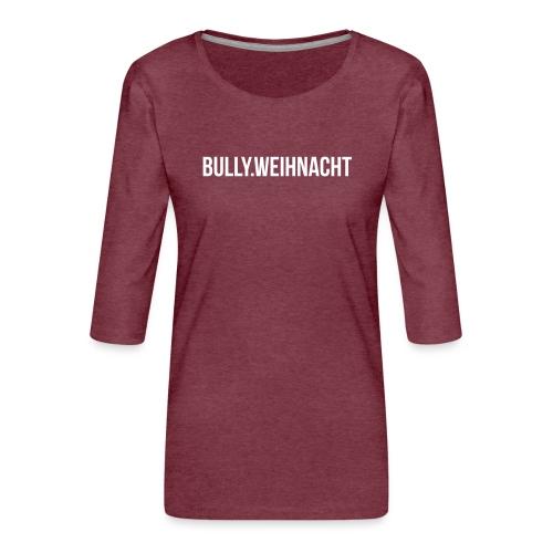 Französische Bulldogge Weihnachten - Geschenk - Frauen Premium 3/4-Arm Shirt