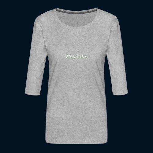 camicia di flofames - Maglietta da donna premium con manica a 3/4