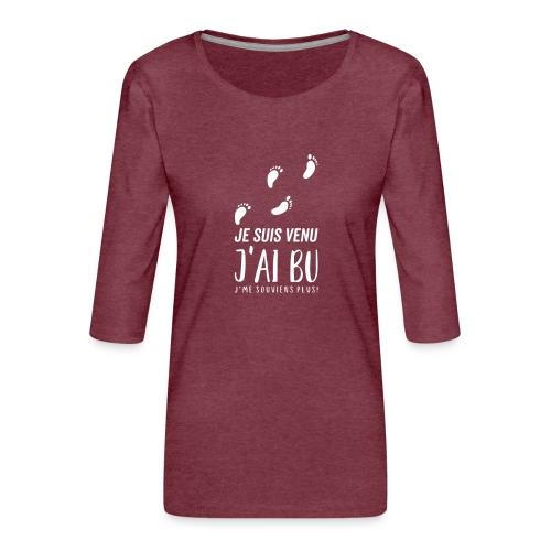 Tshirt Femme / homme - T-shirt Premium manches 3/4 Femme