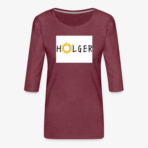 Holger Sommer edition kap - Dame Premium shirt med 3/4-ærmer