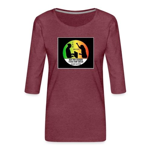 Deb Dub & Titan Dub Siren - Women's Premium 3/4-Sleeve T-Shirt