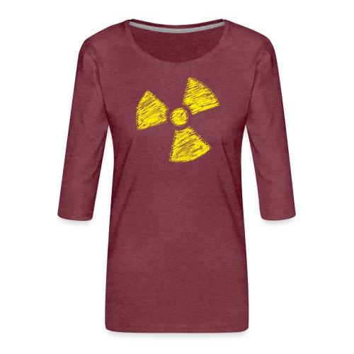 Radioactive - Vrouwen premium shirt 3/4-mouw