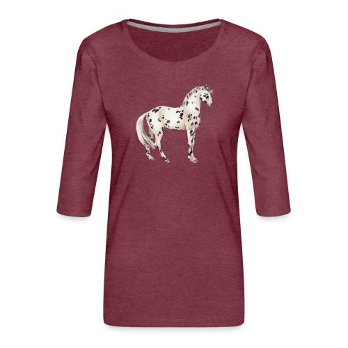 Knabstrupper - Frauen Premium 3/4-Arm Shirt