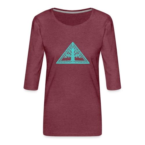 Lebensbaum - Frauen Premium 3/4-Arm Shirt