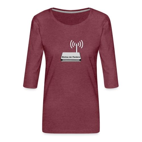 Büchse der Pandora - Frauen Premium 3/4-Arm Shirt