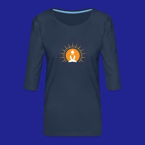 Guramylyfe logo no text - Women's Premium 3/4-Sleeve T-Shirt