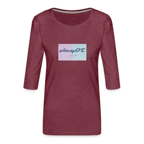 ebuyot - Maglietta da donna premium con manica a 3/4