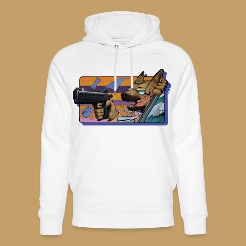 Gun Dog - bez napisu - Ekologiczna bluza z kapturem typu unisex Stanley & Stella