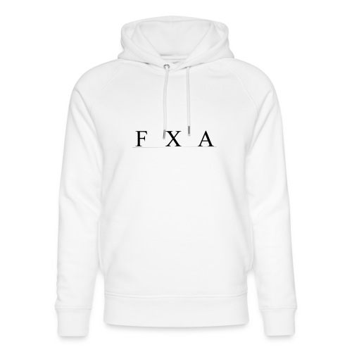 FXA HOODIE V2 - Ekologisk luvtröja unisex från Stanley & Stella