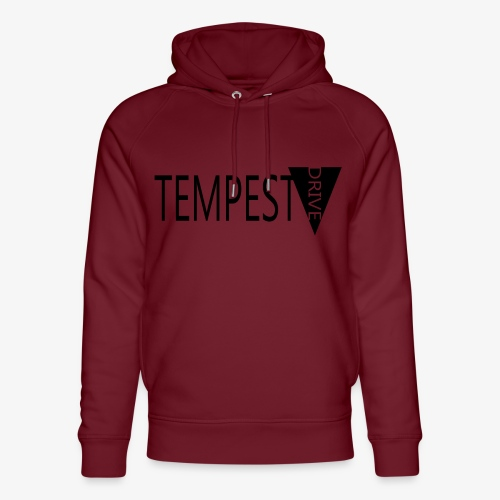 Tempest Drive: Full Logo - Stanley & Stella unisex hoodie af økologisk bomuld