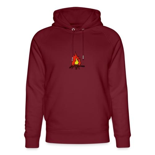 Fire color fuoco - Felpa con cappuccio ecologica unisex di Stanley & Stella