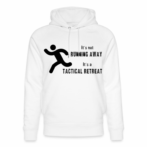Tactical Retreat - Unisex Organic Hoodie by Stanley & Stella