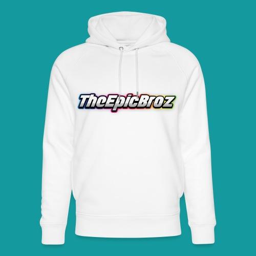 TheEpicBroz - Uniseks bio-hoodie van Stanley & Stella