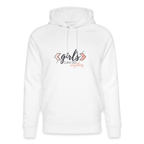 Mädchen können alles Kleidung machen - Unisex Bio-Hoodie von Stanley & Stella