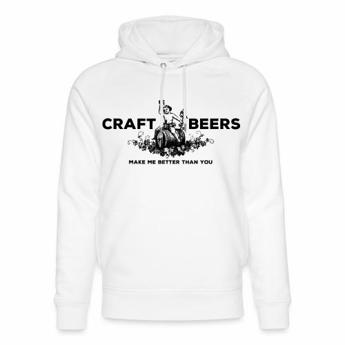 Craft Beers - Unisex Organic Hoodie by Stanley & Stella