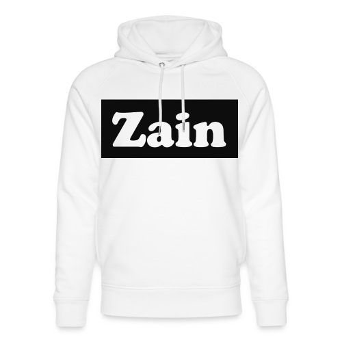 Zain Clothing Line - Unisex Organic Hoodie by Stanley & Stella