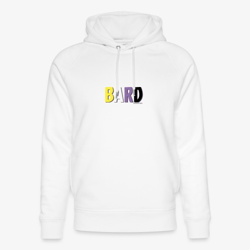 Bard Pride (Non Binary) - Unisex Organic Hoodie by Stanley & Stella