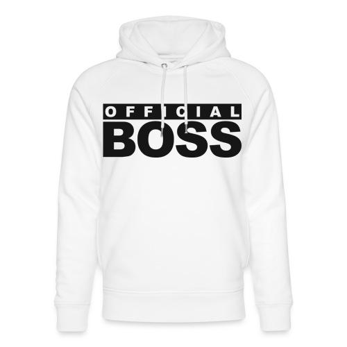 Born a Boss - Unisex Organic Hoodie by Stanley & Stella