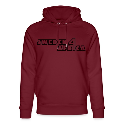 sweden 4 africa text logo v2 - Ekologisk luvtröja unisex från Stanley & Stella