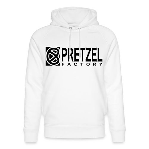 Pretzel Factory Logo Noir - Sweat à capuche bio Stanley & Stella unisexe