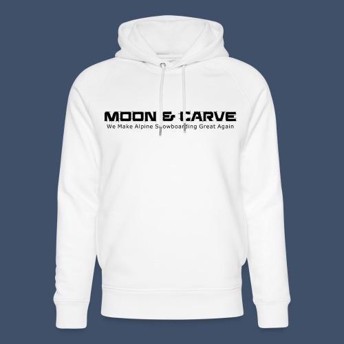 Moon & Carve black - Unisex Bio-Hoodie von Stanley & Stella