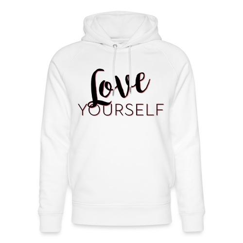 Love Yourself -Schriftzug Pascal Voggenhuber - Unisex Bio-Hoodie von Stanley & Stella