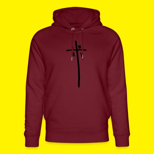 Cross - INRI (Jesus of Nazareth King of Jews) - Unisex Organic Hoodie by Stanley & Stella
