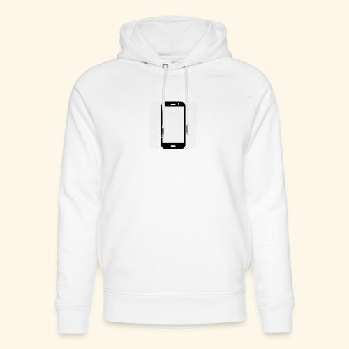 Phone clipart - Unisex Organic Hoodie by Stanley & Stella