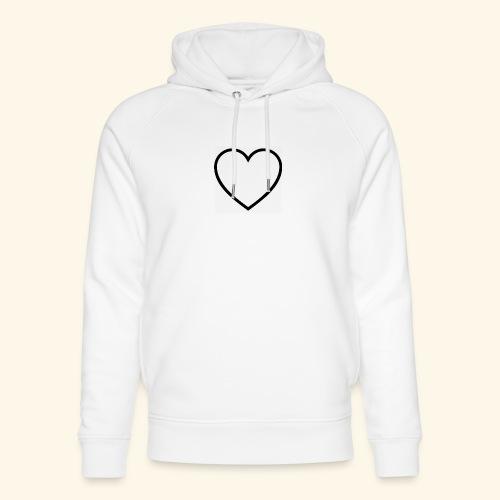 heart 512 - Stanley & Stella unisex hoodie af økologisk bomuld