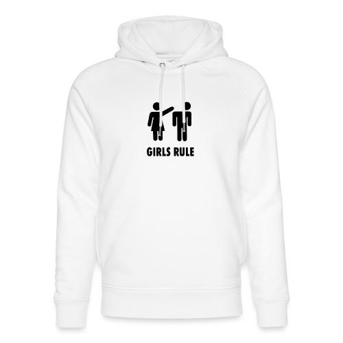 Girl rule - Unisex økologisk hettegenser fra Stanley & Stella