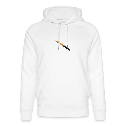 Bowie Knife Tiger Tooth - Unisex Organic Hoodie by Stanley & Stella