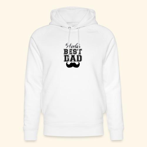 Worlds best dad - Stanley & Stella unisex hoodie af økologisk bomuld