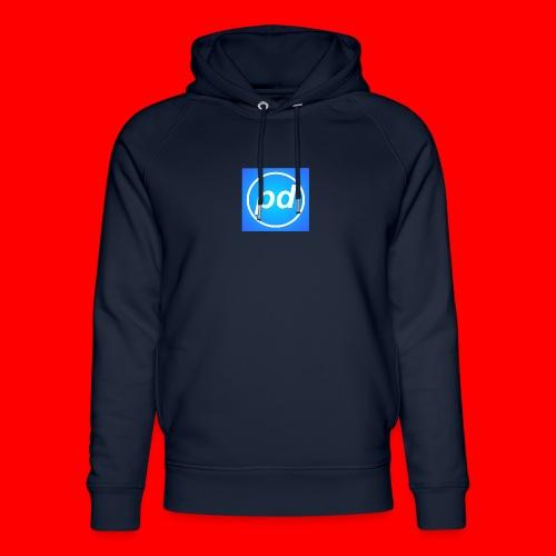 pd Blue V2 - Stanley & Stella unisex hoodie af økologisk bomuld