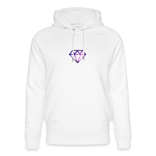Galaxy Diamonds - Unisex Organic Hoodie by Stanley & Stella