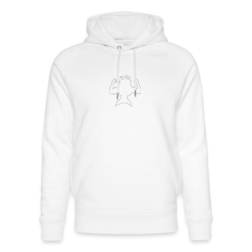 FizkenStrong - Stanley & Stella unisex hoodie af økologisk bomuld