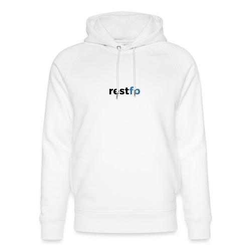 RestFB logo black - Unisex Organic Hoodie by Stanley & Stella
