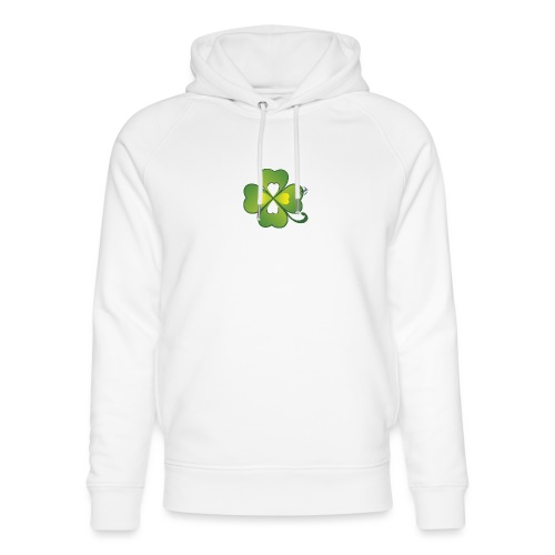 Clover - Symbols of Happiness - Unisex Organic Hoodie by Stanley & Stella