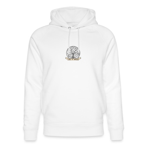 TOS grey tiny 3in png - Unisex Organic Hoodie by Stanley & Stella