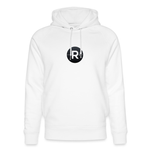 REVIVED Small R (Black Logo) - Unisex Organic Hoodie by Stanley & Stella