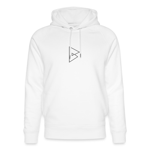 dstrbng official logo - Unisex Organic Hoodie by Stanley & Stella
