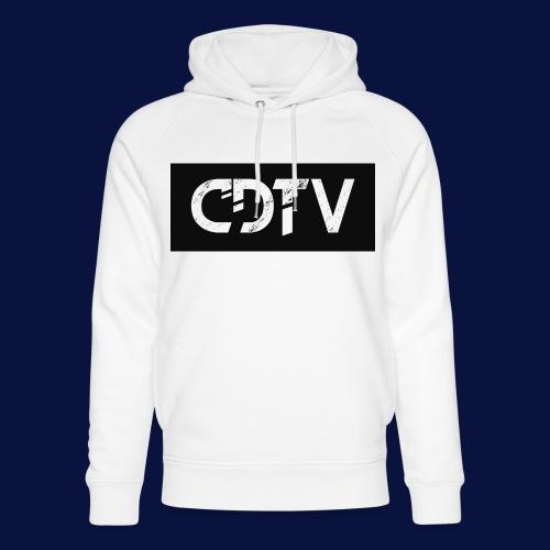 CDTV Box Logo - Unisex Organic Hoodie by Stanley & Stella