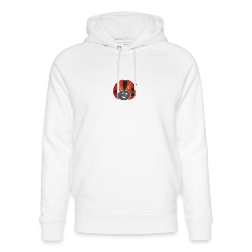 Ladybug - Symbols of Happiness - Unisex Organic Hoodie by Stanley & Stella