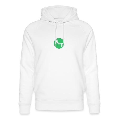 ST Main Logo - Unisex Organic Hoodie by Stanley & Stella
