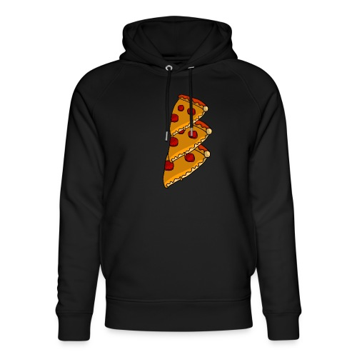 pizza - Stanley & Stella unisex hoodie af økologisk bomuld